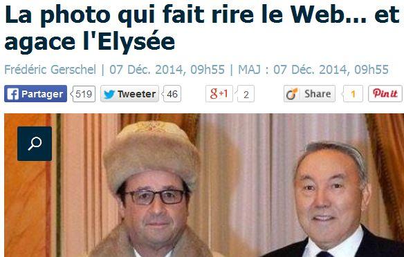 Le Parisien - Titre article Kasakhstan-07.12.2014