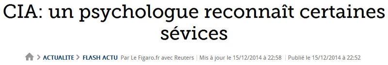 Le Figaro 15.12.2014 - certaines sévices