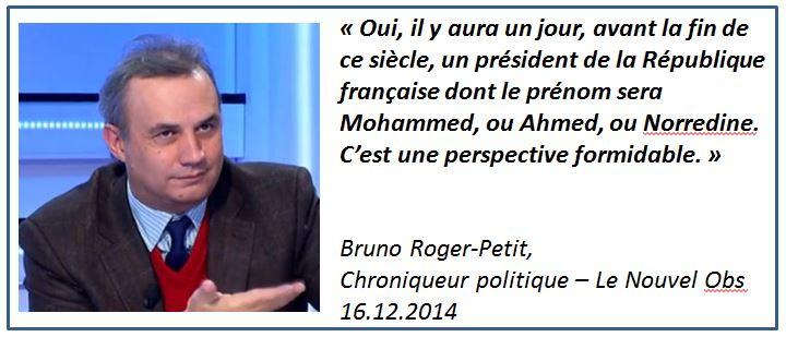 Bruno Roger-Petit -un futur président musulman - Le Nouvel Obs - 16.12.2014