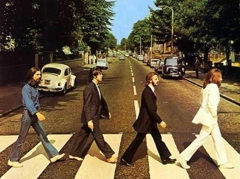 Traversée piétons Beatles