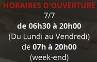 Stéphane Cazenave Boulangerie - horaires d'ouverture