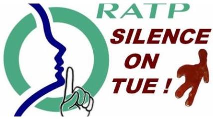 RATP silence on tue - 04.04.2015