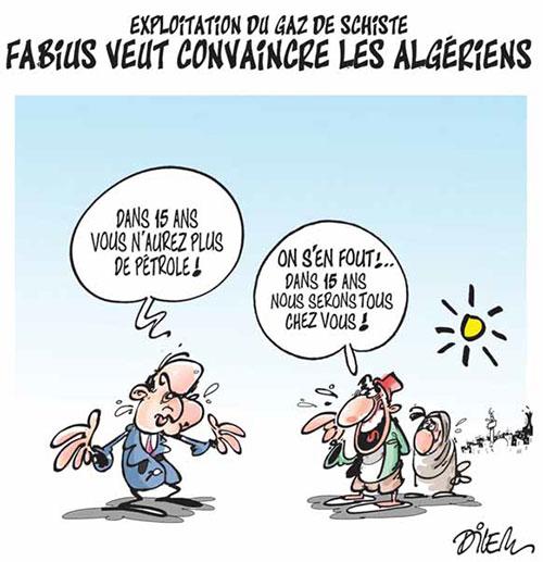 Dilem-Algérie pétrole
