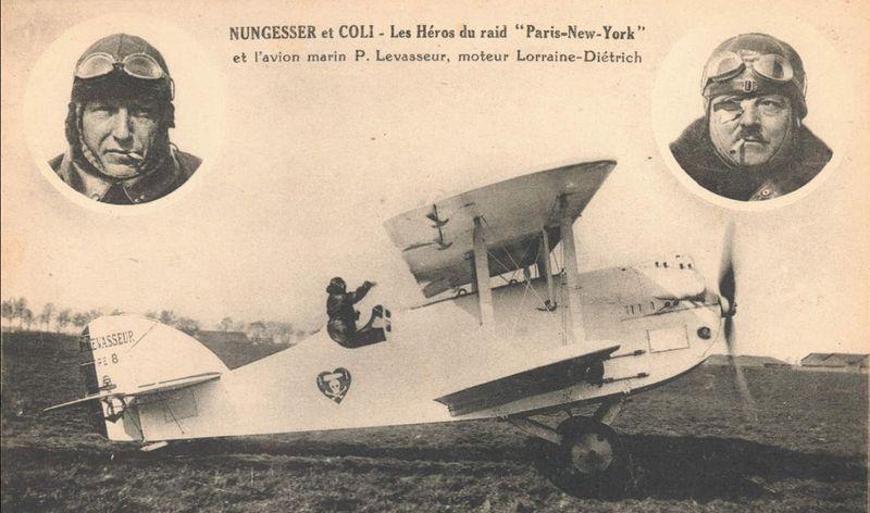 Biplan Oiseau blanc- Nungesser et Coli
