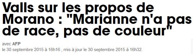 Valls-Marianne n'a pas de race, pas de couleur-30.09.2015