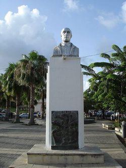 Victor Schoelcher-statue en Guadeloupe