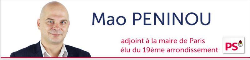 Mao Peninou-adjoint mairie de Paris