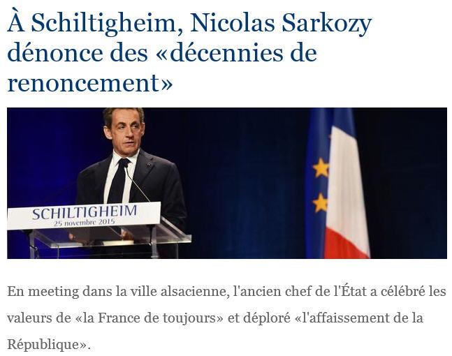 Schiltigheim-Sarkozy-Renoncement-25.11.2015