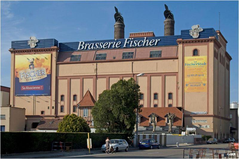 Brasserie Fischer Schiltigheim