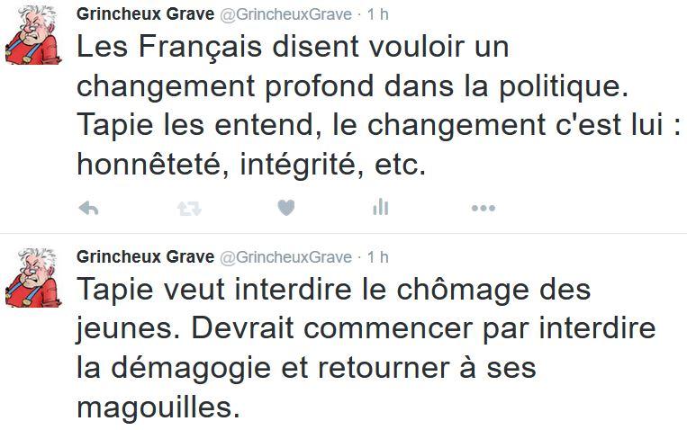 TWEETS GG- Bernard Tapie-20.12.2015