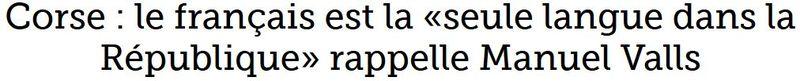 Valls-le français est la seule langue dans la république-23.12.2015