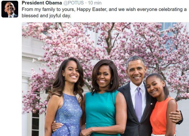Happy Esater-President Obama-2016