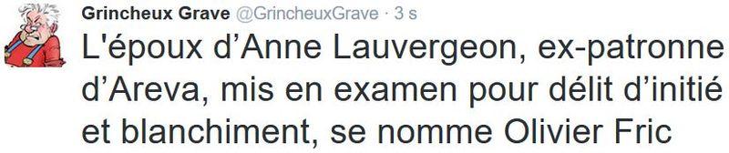 TWEET GG-Lauvergeon-Olivier Fric-30.03.2016