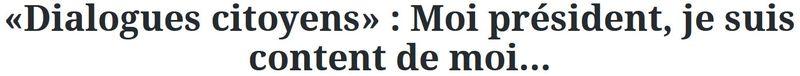 Titre-Figaro-Moi président je suis content de moi-15.04.2016