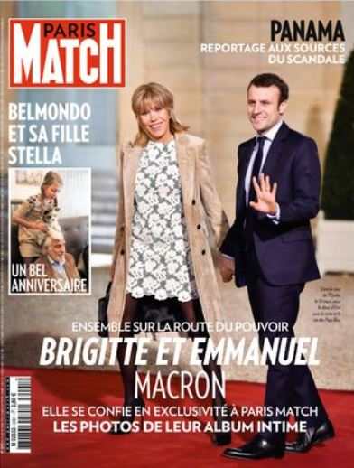 Paris Match- Macron - avril 2016