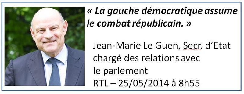 Jean-Marie Le Guen-Le combat républicain-25.05.2016