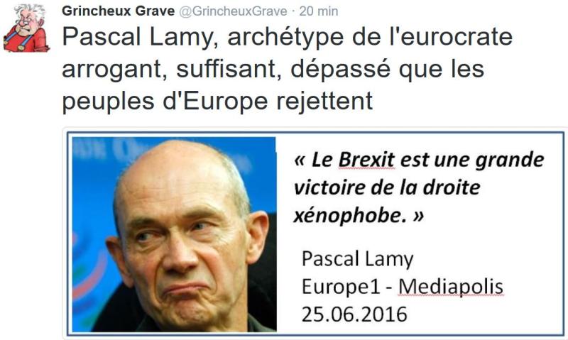 TWEET GG-Pascal Lamy eurocrate-Europe1-25.06.2016