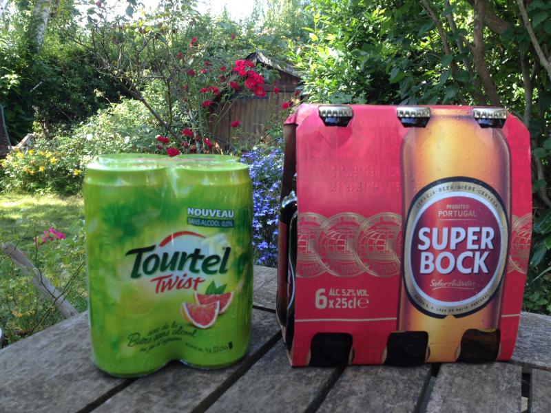 Bière Tourtel vs  Super Bock