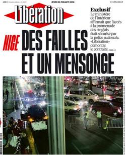 Libération-une-les failles-NICE-21.07.2016