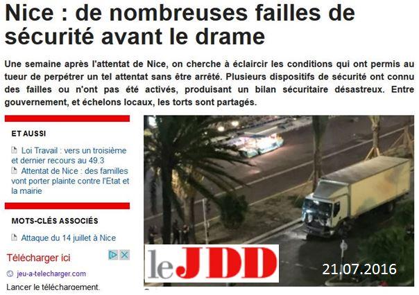 JDD-Nice failles de sécurité