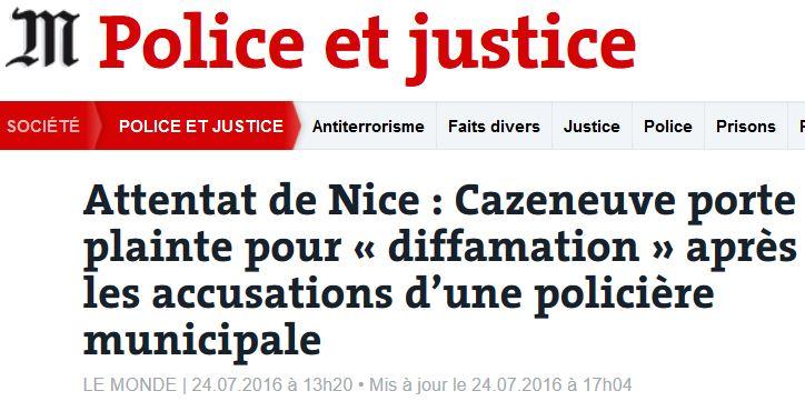 NICE-Cazeneuve porte plainte-24.07.2016