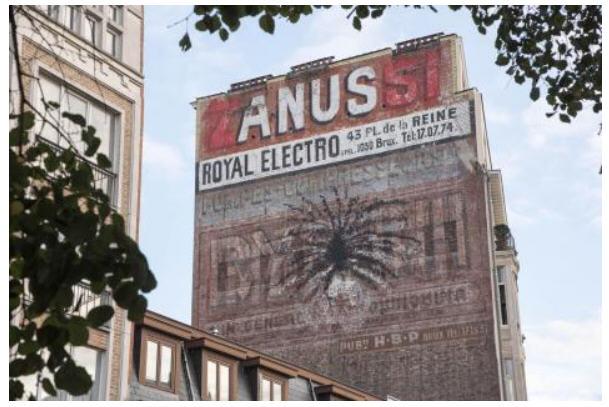 Bruxelles-ANUS-Quai à la Houille-octobre 2016