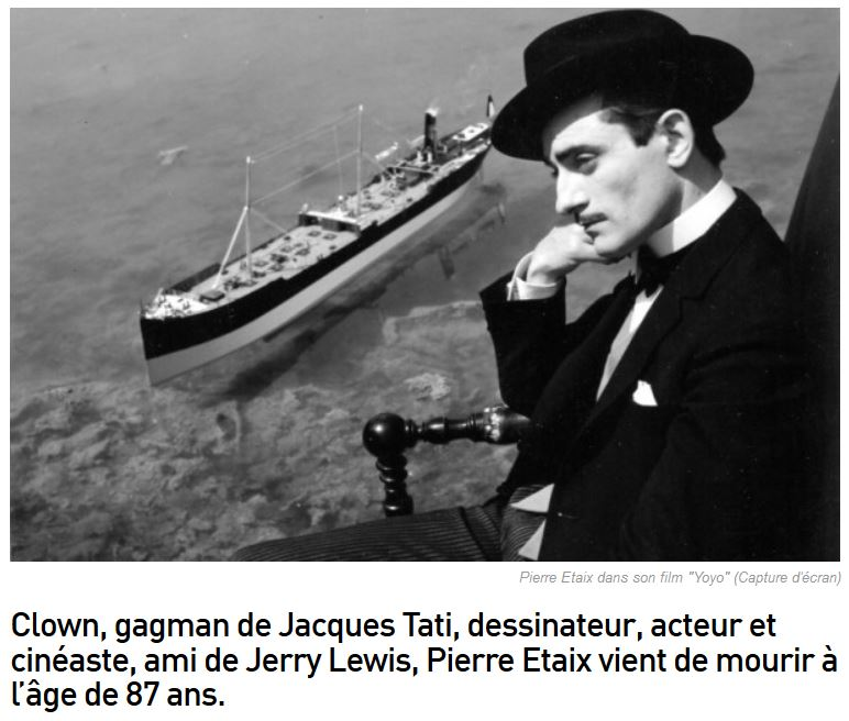 Pierre Etaix est mort