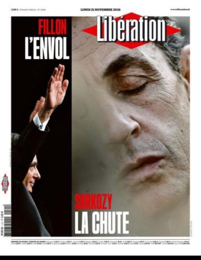 Libération-une du lundi 21.11.2016