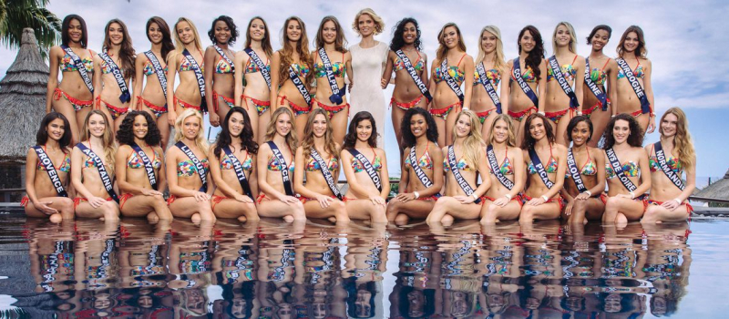 Miss France 2017 les candidates