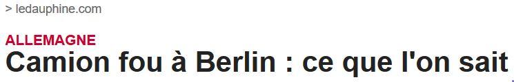 Le Dauphine-Berlin un camion fou
