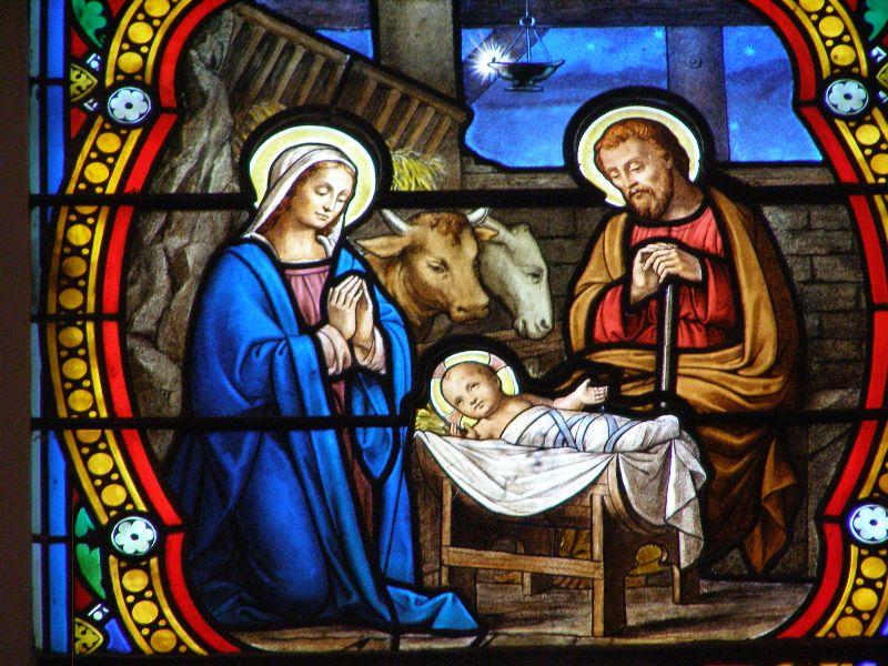 Vitrail Nativité
