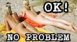 No bikinis-OK no problem