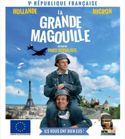 La grande magouille-Macron-Hollande