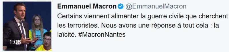 TWEET-Macron à Nantes-19.04.2017