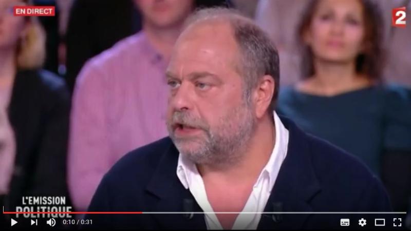 Dupond-Moretti sur FR2-04.05.2017