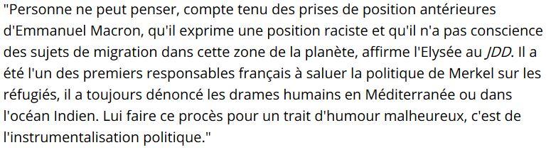Kwassa-kwassa-défense de l'Elysée-04.06.2017