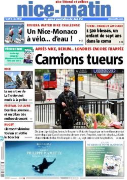 Nice Martn-Une du  05.06.2017 jg