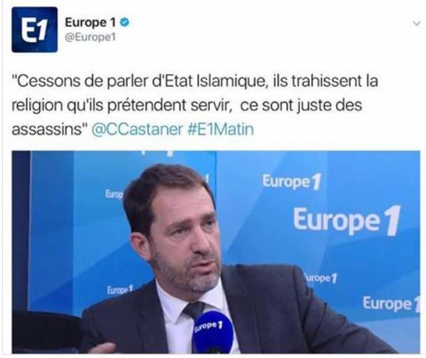 Castener-Cessons de parler d'Etat Islamistes