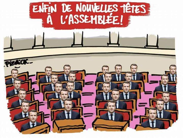 Enfin de nouvelles têtes à l'Assemblée Nationale