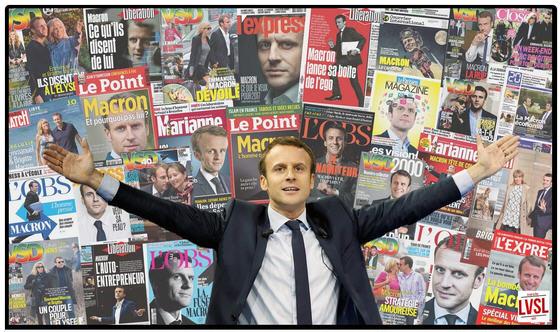 Macron et les médias