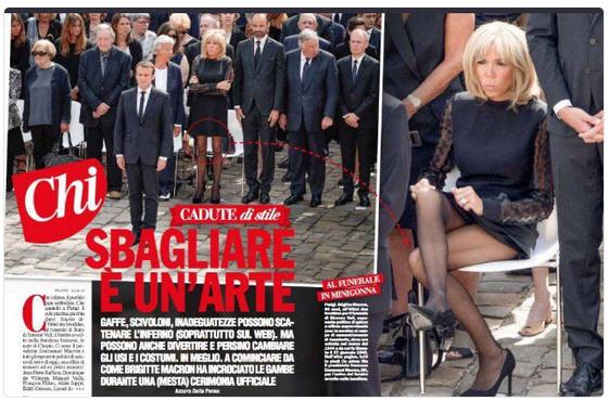 Brigitte Macron aux obsèques de Simone Veil