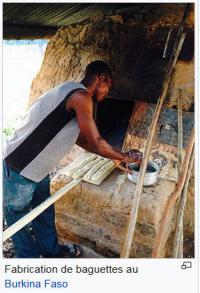 Fabrication de la baguette au Burkina Faso