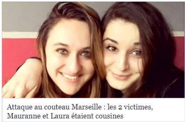 Mauranne et Laura assassinées à Marseille le 01.10.2017