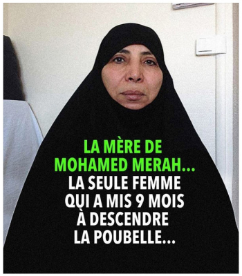 La mère de Mohamed Merah