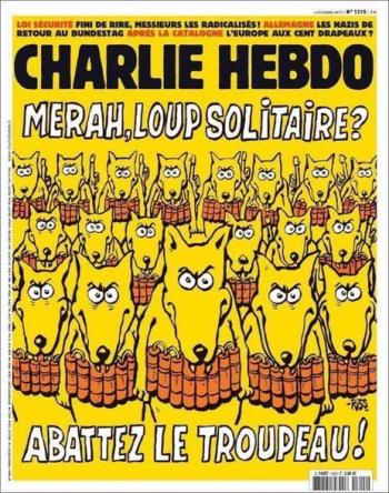Charlie Hebdo 4 oct 2017