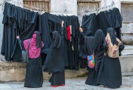 Burqas-L'embarras du choix