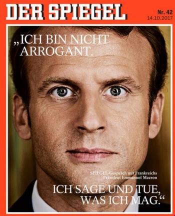 Macron-Der Spiegel-12.10.2017