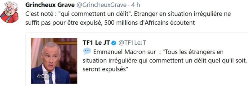Etrangers expulsables-Macron-15.10.2017