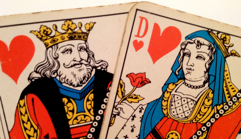 Cartes-Roi-Dame