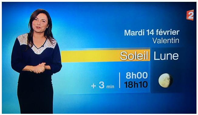 La saint Valentin sur France 2